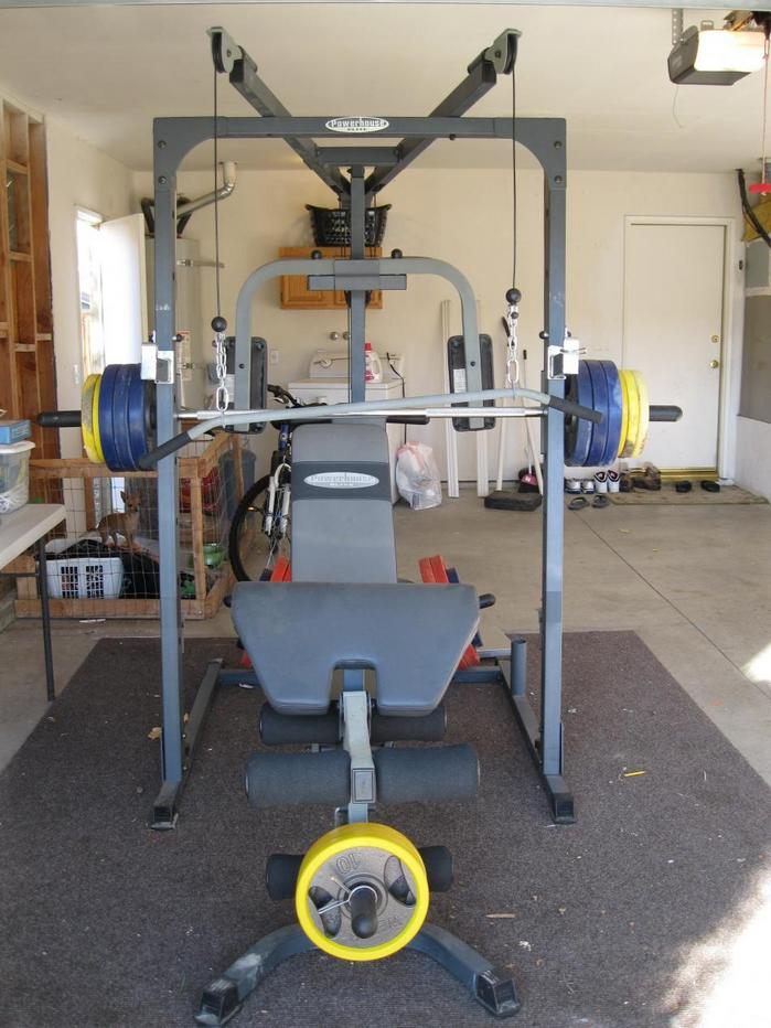 Impex Powerhouse Elite Phe 9000 Smith Machine Home Gym Olympic Weights Ebay