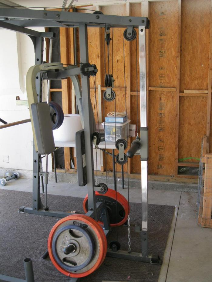 Impex Powerhouse Elite Phe 9000 Smith Machine Home Gym