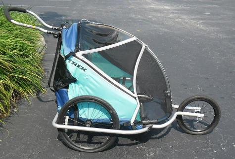 Trek Super Doodlebug 2 In 1 Double Baby Bike Trailer
