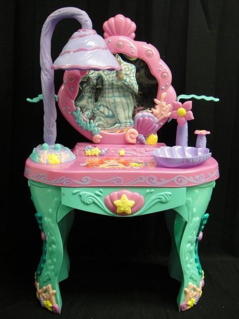 Disney Princess Ariel Little Mermaid Magical Vanity