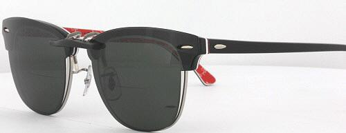 46d2ca7b1d4 ... hot custom fit polarized clip on sunglasses for ray ban clubmaster 3016  49x21 rb3016 ebay 9255e