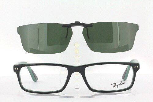 2909c52502a Custom Fit Polarized CLIP-ON Sunglasses For Ray-Ban RB5277 52x17 5277 Rayban