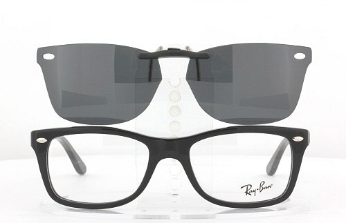 ef6bfcdb451cd8 ... where to buy custom fit polarized clip on sunglasses for ray ban rb5228  50x17 rayban 5228