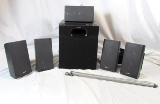 Infinity HTS 10 Home Theater Speaker System w Sony SA WM20 ...