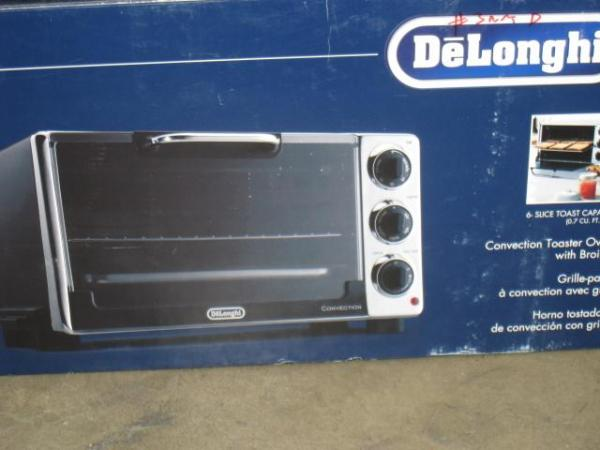 Delonghi Eo2058 6 Slice Convection Toaster Oven W Broiler