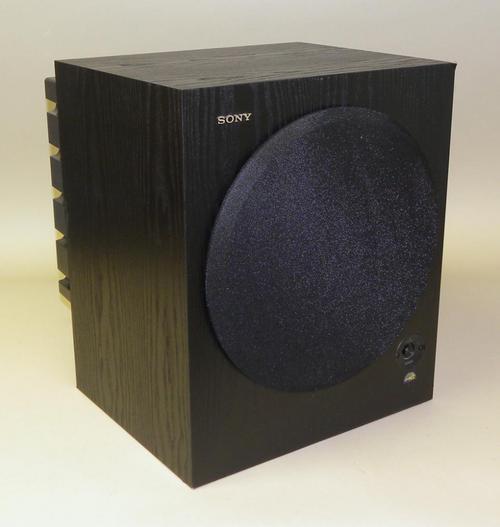 Sony Model SA WM500 Powered Subwoofer 150 Watt Black 12