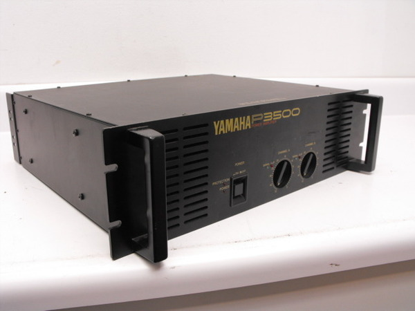 yamaha p3500 power amp stereo amplifier used. Black Bedroom Furniture Sets. Home Design Ideas