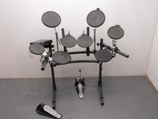 roland td 7 9 piece drum set electronic drum kit ebay. Black Bedroom Furniture Sets. Home Design Ideas