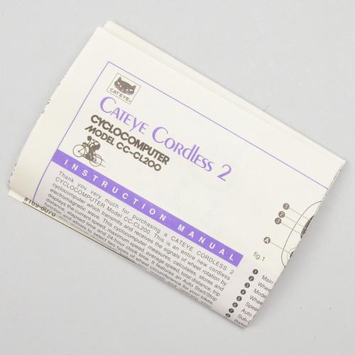 Cateye cordless 2 cc-cl200