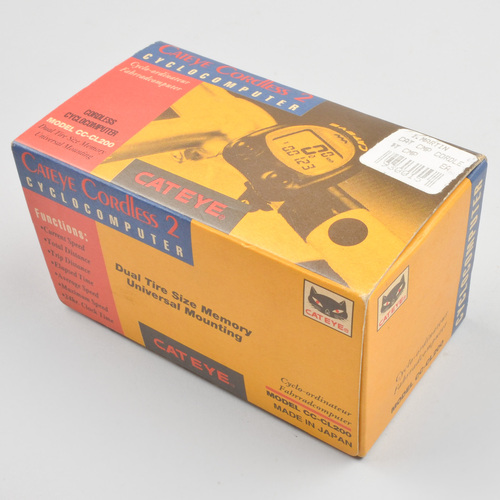 Cateye cordless 2 cc - cl200
