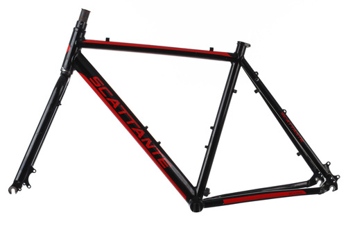 2014 scattante scx 350 cross 2 cyclocross bike frame set 54cm medium disc ebay. Black Bedroom Furniture Sets. Home Design Ideas