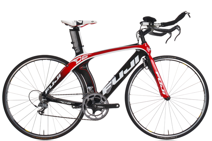 2011 Fuji D6 3.0 Carbon Time Trial Triathlon Bike 52cm ...