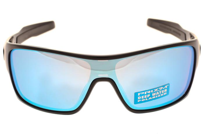 6edccb763d Oakley Turbine Rotor Sunglasses Black Frame w  Prizm Deep Water Polarized  Lens