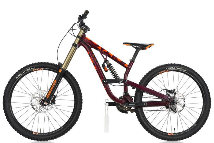 2016 scott voltage fr720 downhill mountain bike small 15 5. Black Bedroom Furniture Sets. Home Design Ideas