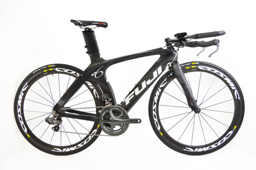 Fuji D6 2.0 52cm Time Trial Triathlon Bike // Shimano Dura ...