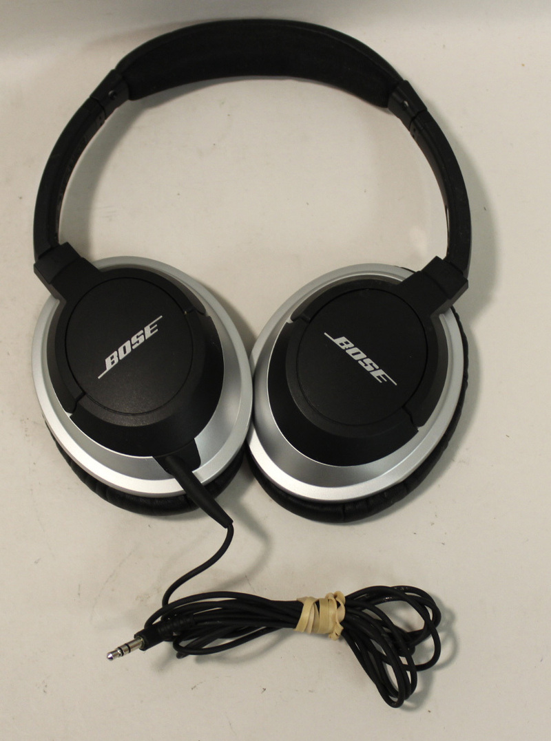 fair bose ae2 over the ear headband headphones black wired. Black Bedroom Furniture Sets. Home Design Ideas