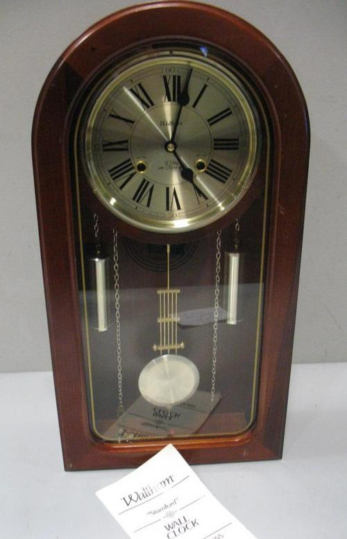 Waltham Stamford 31 Day Pendulum Wall Clock For Repair As Is